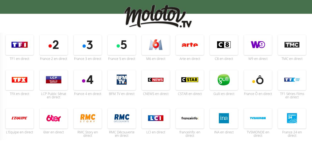 Molotov.Tv : tout ce qu'il savoir sur l'application star
